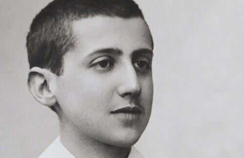 Proust quando criança