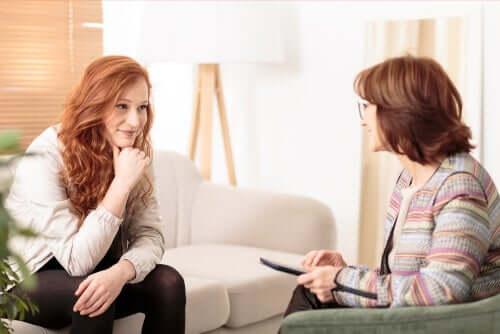 Terapia com psicóloga