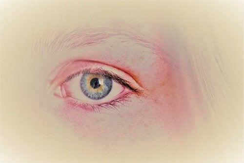 Ilustração de olho colorido