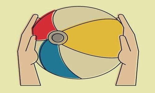 A metáfora da bola na praia