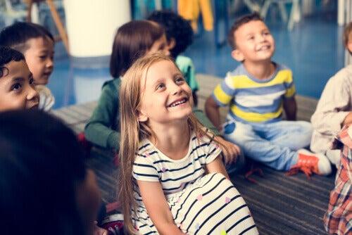 A árvore de valores na educação infantil