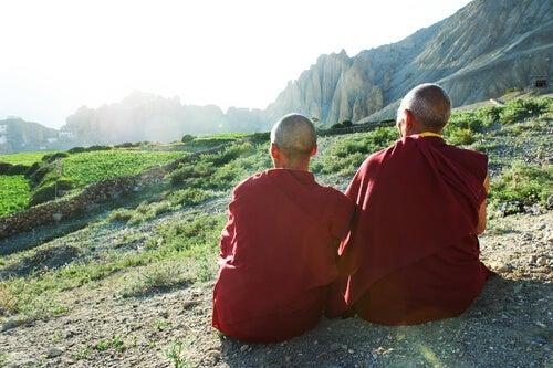 Os monges tibetanos de Benson