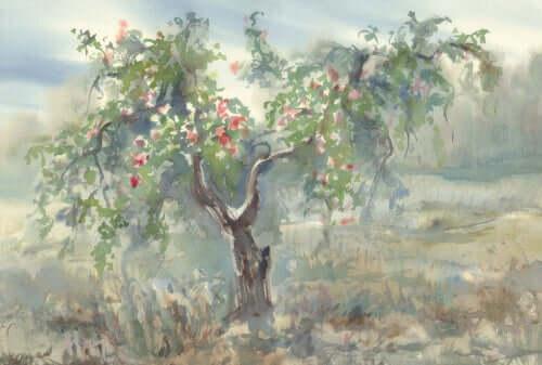 Ilustração de árvore