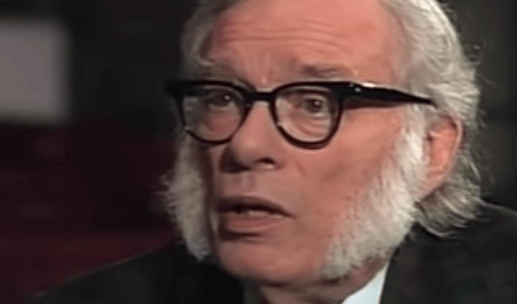 5 frases fantásticas de Isaac Asimov