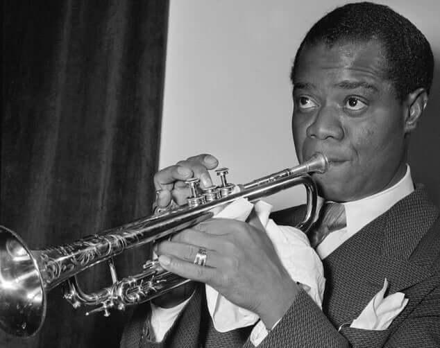 Louis Armstrong, um homem talentoso