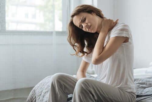 Tensão muscular causada por estresse