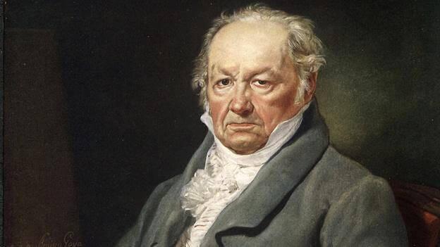 Francisco de Goya de Vicente López Portaña