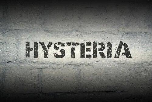A palavra histeria