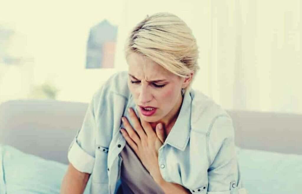 Qual é a relação entre hiperventilação e ansiedade?