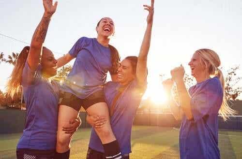 Esporte feminino, o teto de vidro mais visível do que nunca