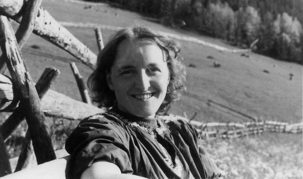 Elisabeth Kübler-Ross jovem