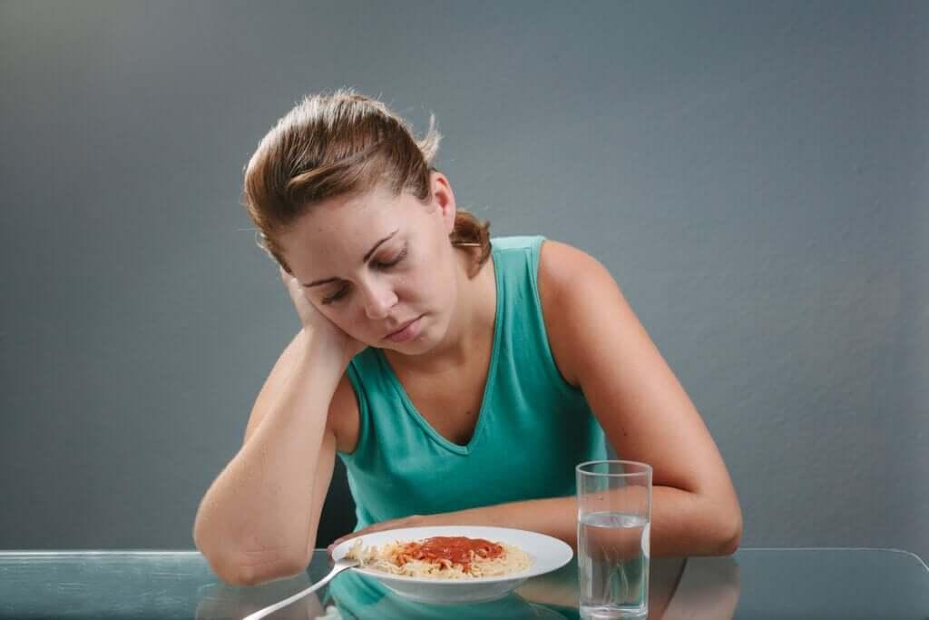 Quais são as causas da perda de apetite?