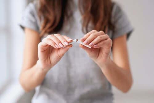 Preparação psicológica para parar de fumar