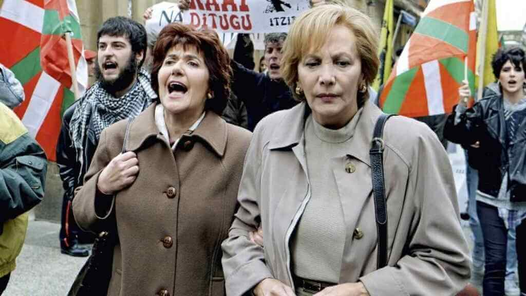 Mulheres protestando