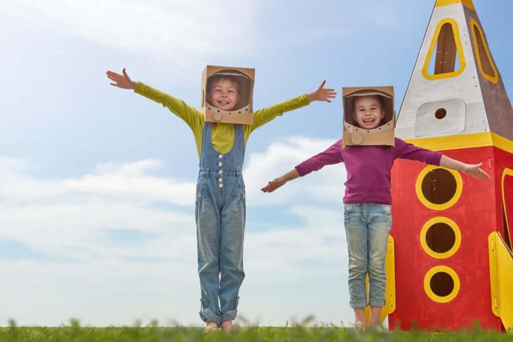 Benefícios psicológicos do uso de fantasias na infância