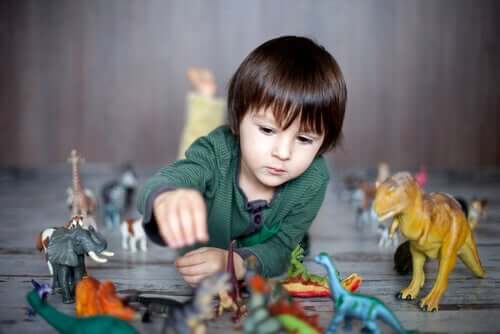 Por que as crianças gostam de dinossauros?