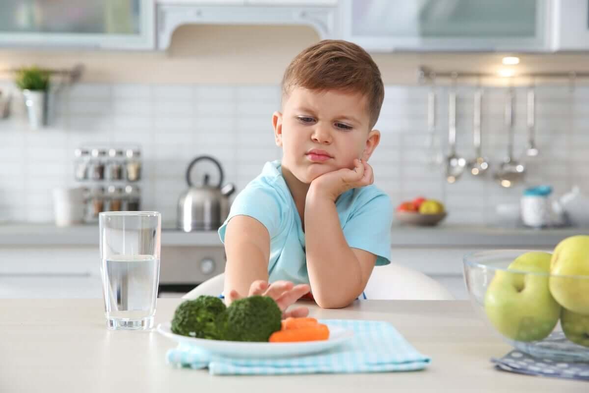 Que tipos de fobias alimentares existem?