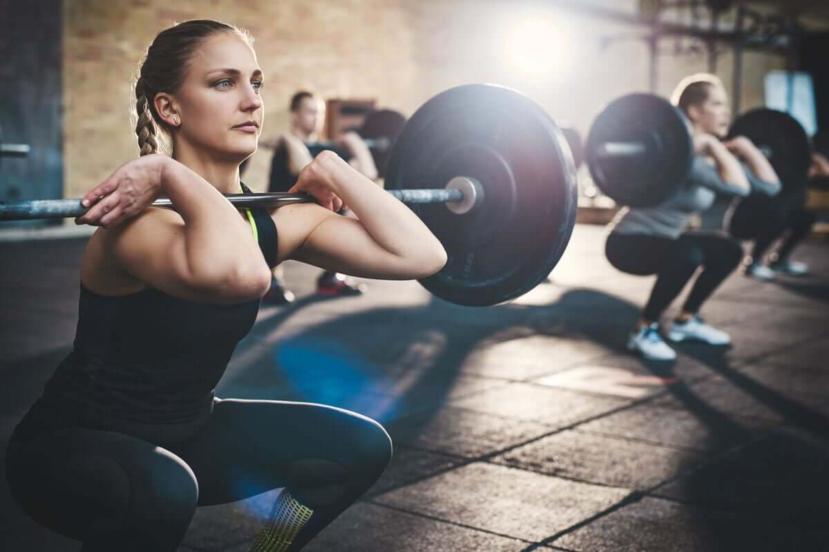 A hipertrofia muscular é o crescimento do músculo