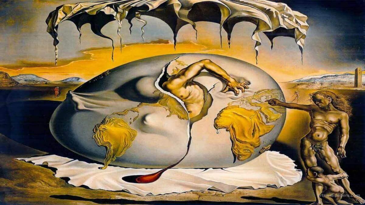 Pintura de Dali