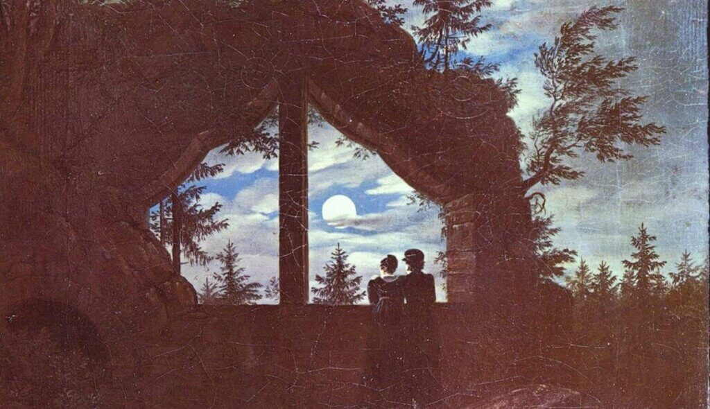 Pintura de Carl Gustav Carus