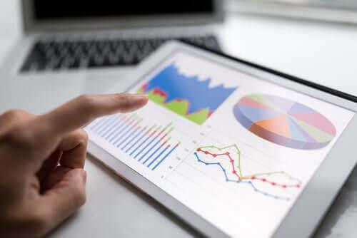 Pesquisa em estatística inferencial apresentada em gráfico