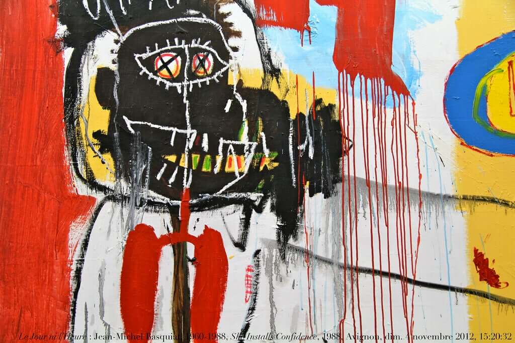 As cores de Basquiat