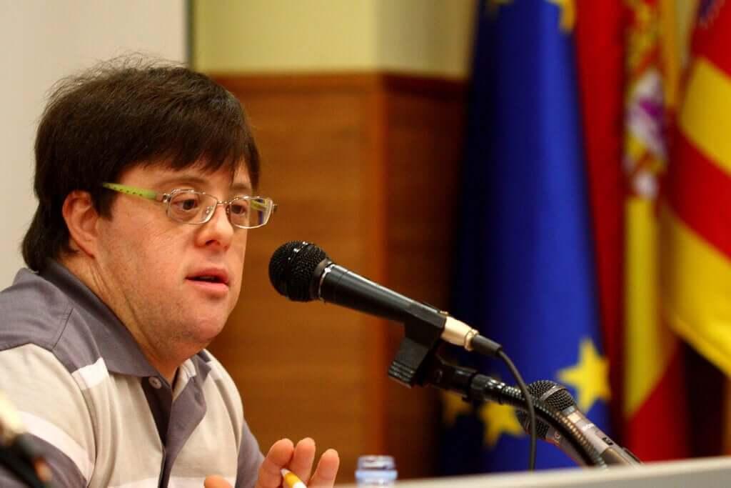 Pablo Pineda esclarecendo a Síndrome de Down