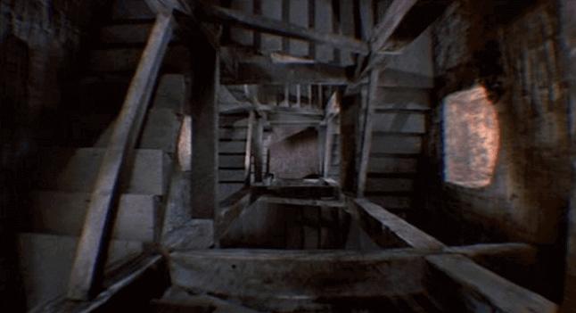 Escadas para o porão