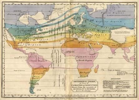 Mapa isotermal