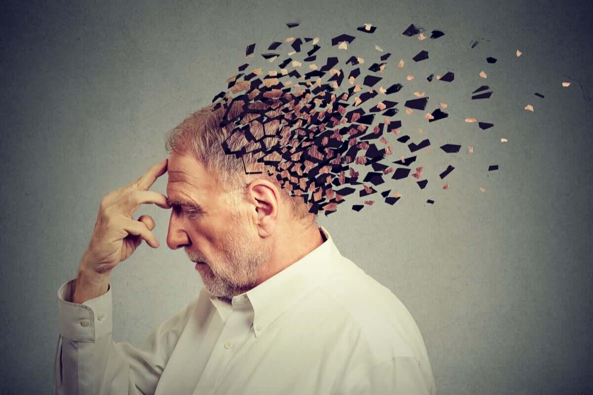 Idoso com demência