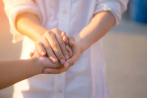 Aprender a dar, uma das regras do bem-estar