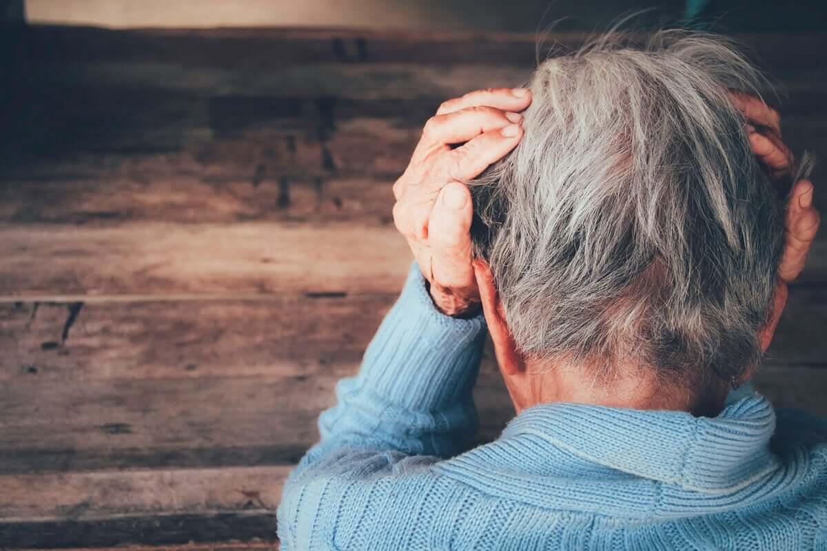 Pessoa com Alzheimer