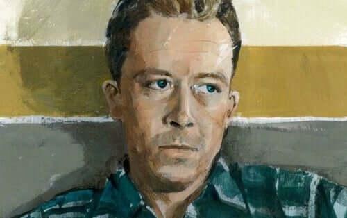 Pintura de Albert Camus
