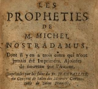 Profecia de Nostradamus