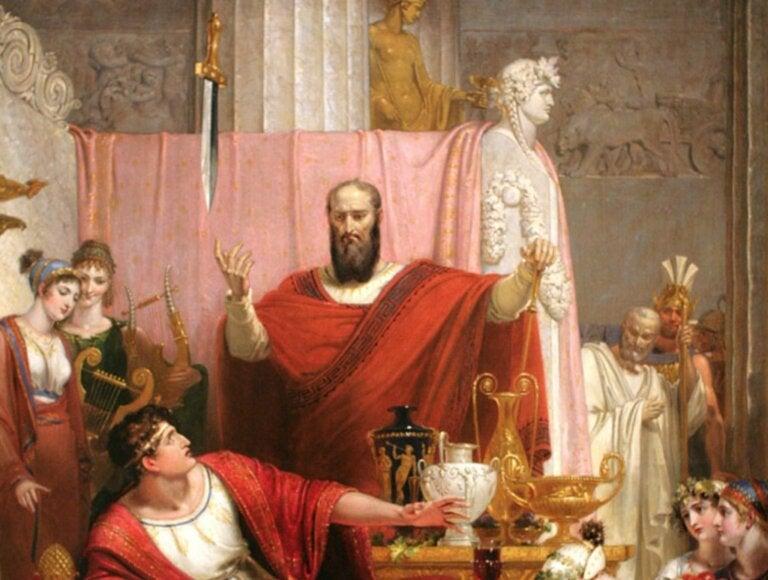 A lenda da espada de Dâmocles