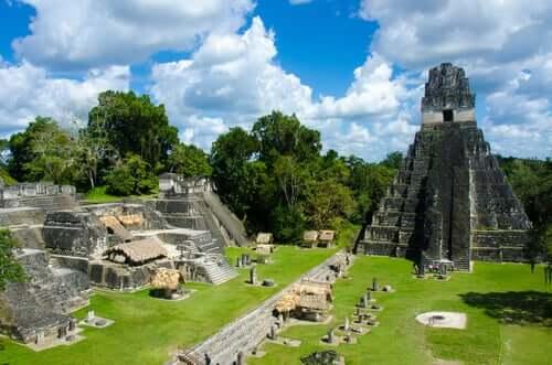 Ruínas maias