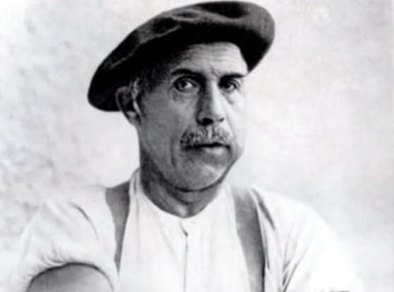 Retrato de Adolf Wölfli