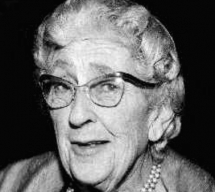 Agatha Christie idosa