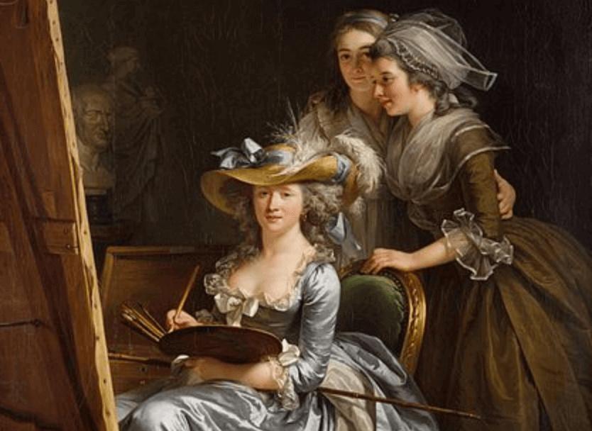 Biografia de Adélaïde Labille-Guiard e a arte na corte francesa