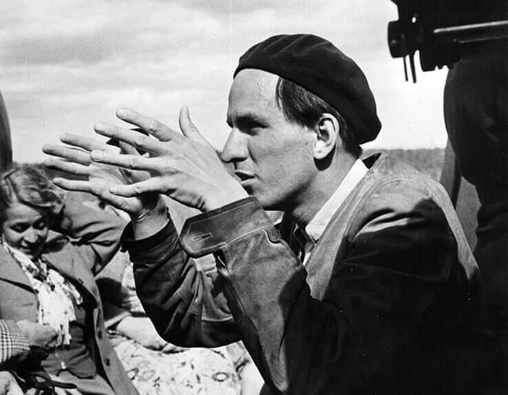 Bergman dirigindo