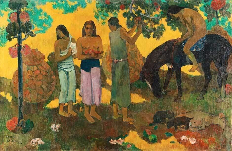 Quadro de Paul Gauguin