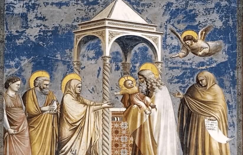Um quadro de Giotto