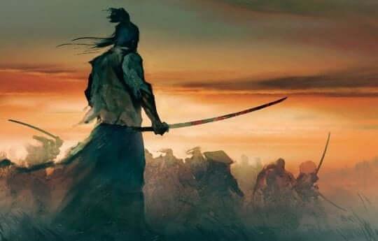 Batalha de samurais