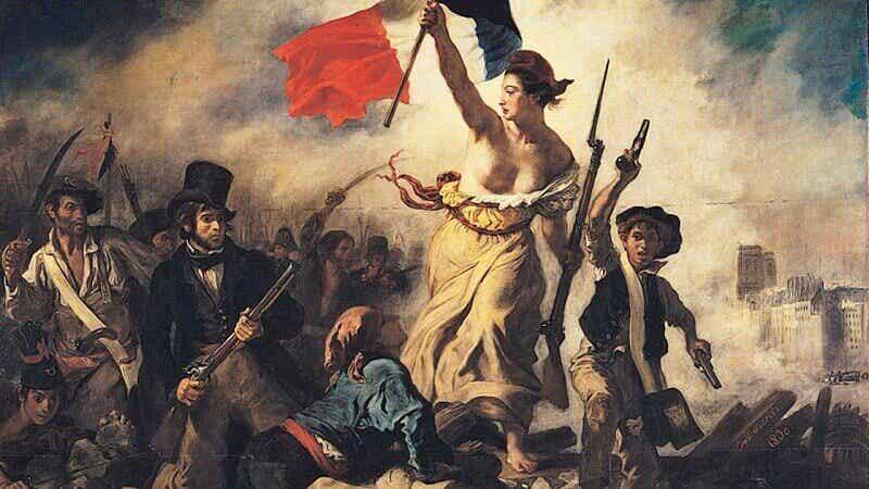 Pintura de Eugène Delacroix