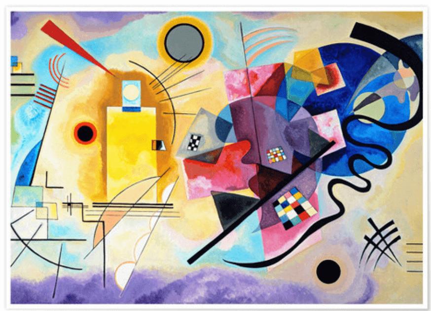 Biografia de Wassily Kandinsky: uma vida em torno da cor