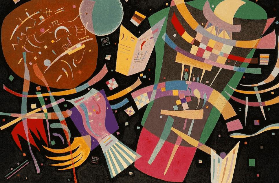 O início da carreira artística de Wassily Kandinsky