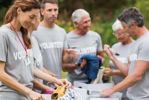 A importância dos voluntários em situações de crise