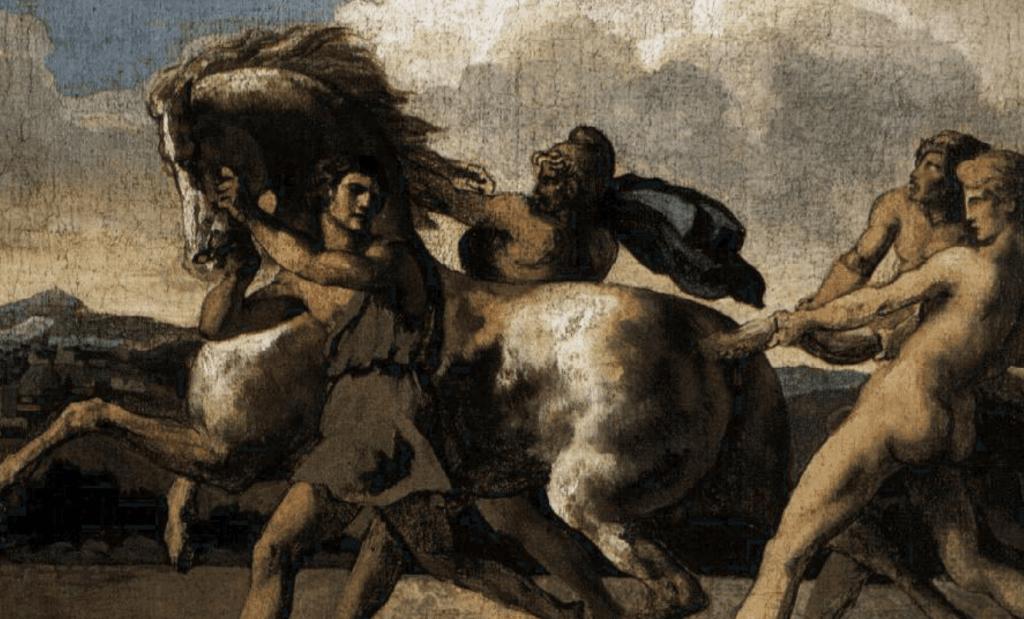 O início da carreira de Théodore Géricault