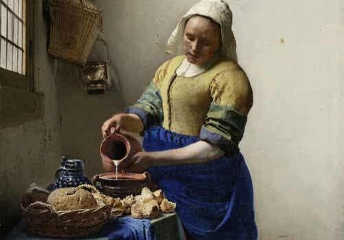 Pintura de Vermeer